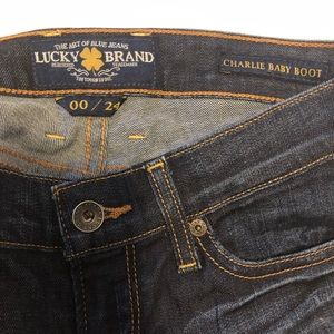 Lucky Brand Jeans - Lucky Brand Jeans Charlie Baby Boot Size 00/24